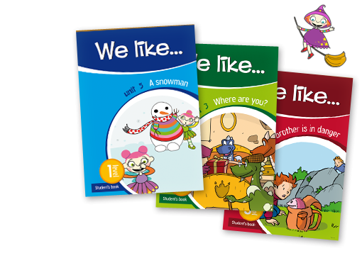 We Like It! | Método de Inglés
